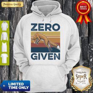 Official Fox Zero Given Retro Hoodie