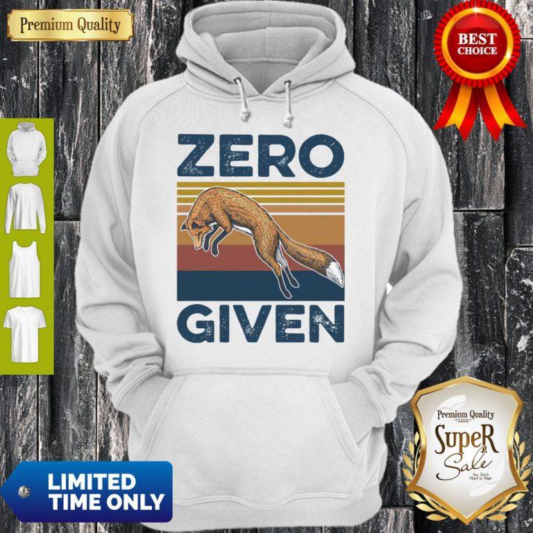 Official Fox Zero Given Retro Hoodie