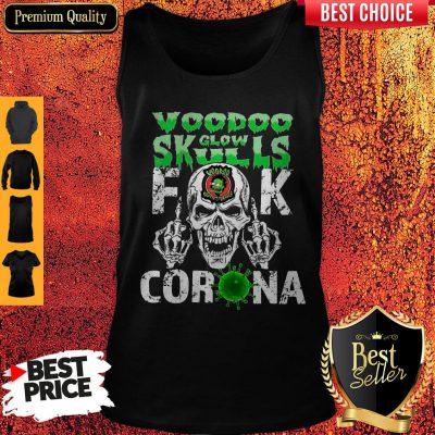 Funny Voodoo Glow Skulls Fuck Coronavirus Tank Top