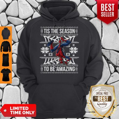 Marvel Spider Man Tis The Season To Be Amazing Ugly Christmas Hoodie