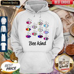 Premium LGBT Bee Kind Hoodie