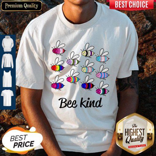 Premium LGBT Bee Kind Shirt