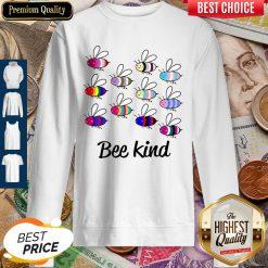 Premium LGBT Bee Kind Sweatshirt