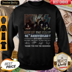 Signature The Final Tour Ever Kiss End Of The Road World Tour Sweatshirt