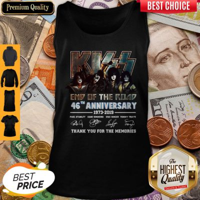 Signature The Final Tour Ever Kiss End Of The Road World Tour Tank Top