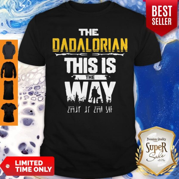 Top The Dadalorian This Is The Way Father's Day Shirt