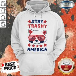 Awesome Racoon Stay Trash America Hoodie