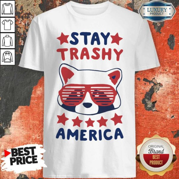 Awesome Racoon Stay Trash America Shirt