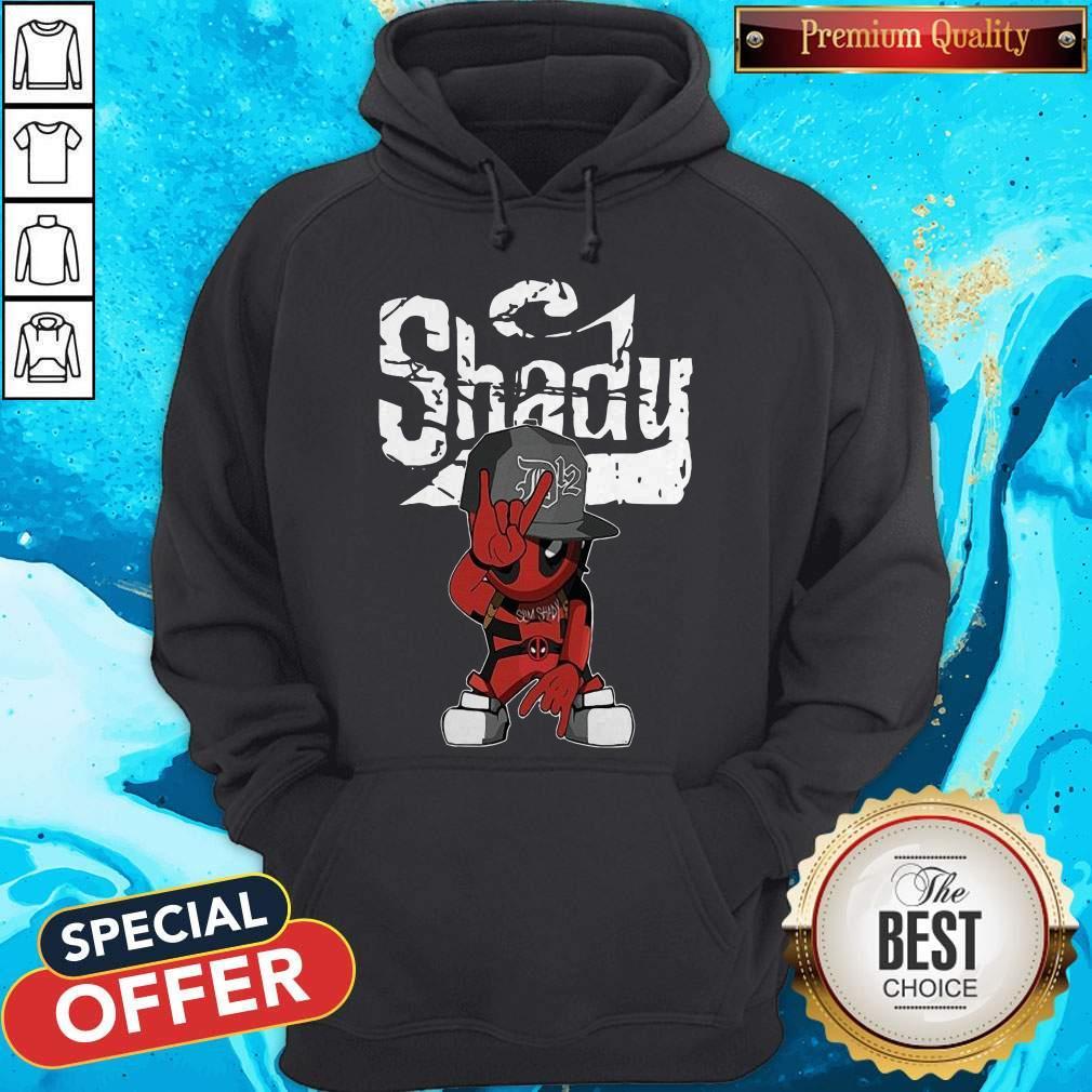 Cute Baby Deadpool Slim Shady Hoodie