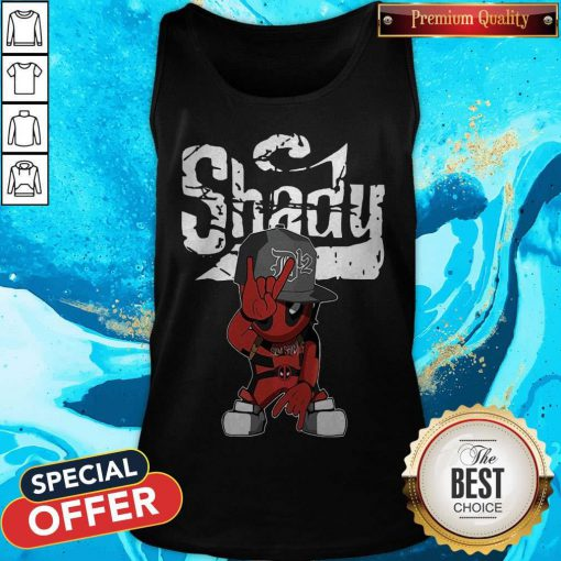 Cute Baby Deadpool Slim Shady Tank Top