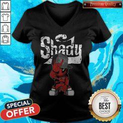 Cute Baby Deadpool Slim Shady V-neck