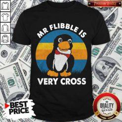 Cute Mr Flibble Is Very Cross Shirt