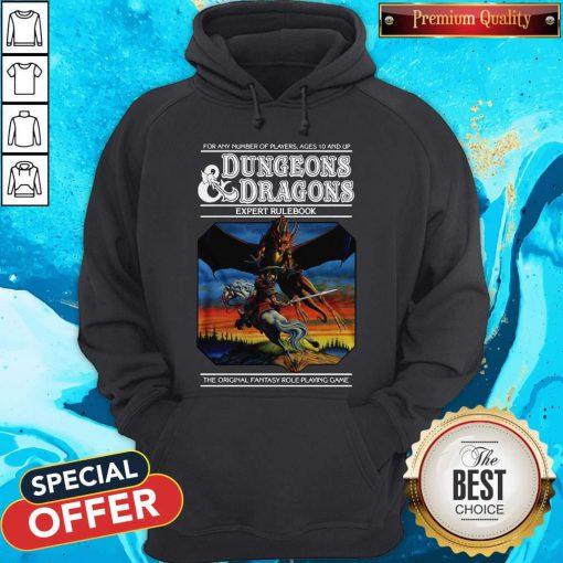 Good Expert Rulebook Dungeons & Dragons Hoodie