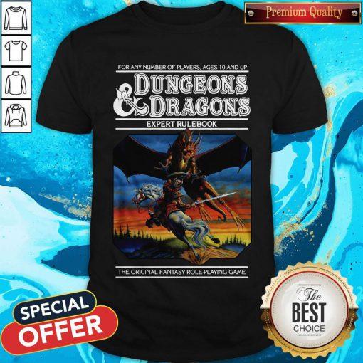Good Expert Rulebook Dungeons & Dragons Shirt