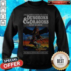 Good Expert Rulebook Dungeons & Dragons Sweatshirt