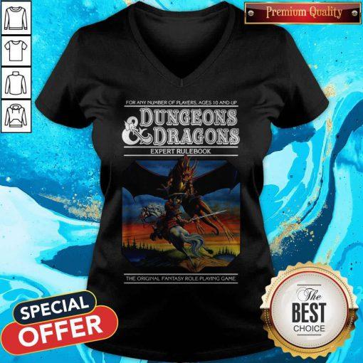Good Expert Rulebook Dungeons & Dragons V-neck