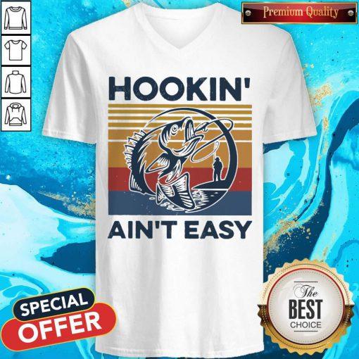 Good Hookin' Ain't Easy Vintage V-neck