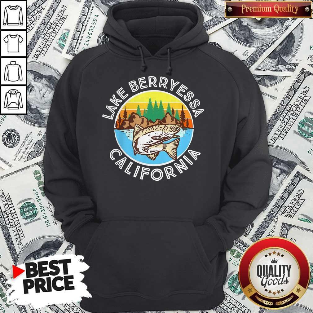 Perfect Fish Lake Berryessa California Hoodie