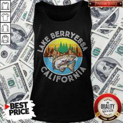 Perfect Fish Lake Berryessa California Tank Top