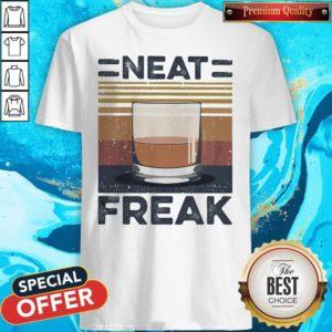 Premium Tea Neat Freak Vintage Retro Shirt