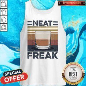 Premium Tea Neat Freak Vintage Retro Tank Top