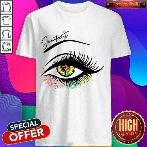 Top Eye Black Girl Magic Shirt
