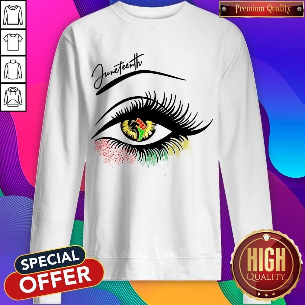 Top Eye Black Girl Magic Sweatshirt