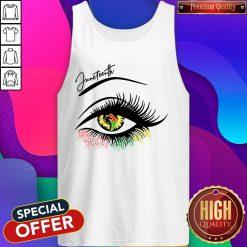 Top Eye Black Girl Magic Tank Top