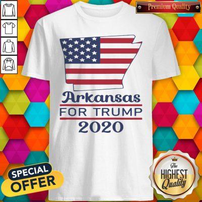Arkansas For Donald Trump 2020 Flag Shirt