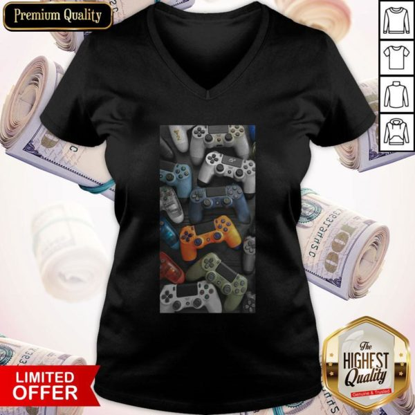 Awesome Gaming Playstation V-neck