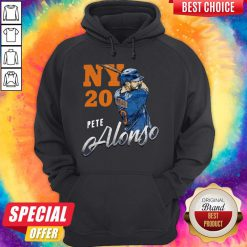 Awesome New York 20 Pete Alonso Hoodie
