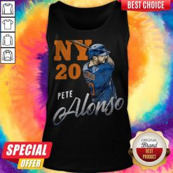 Awesome New York 20 Pete Alonso Tank Top