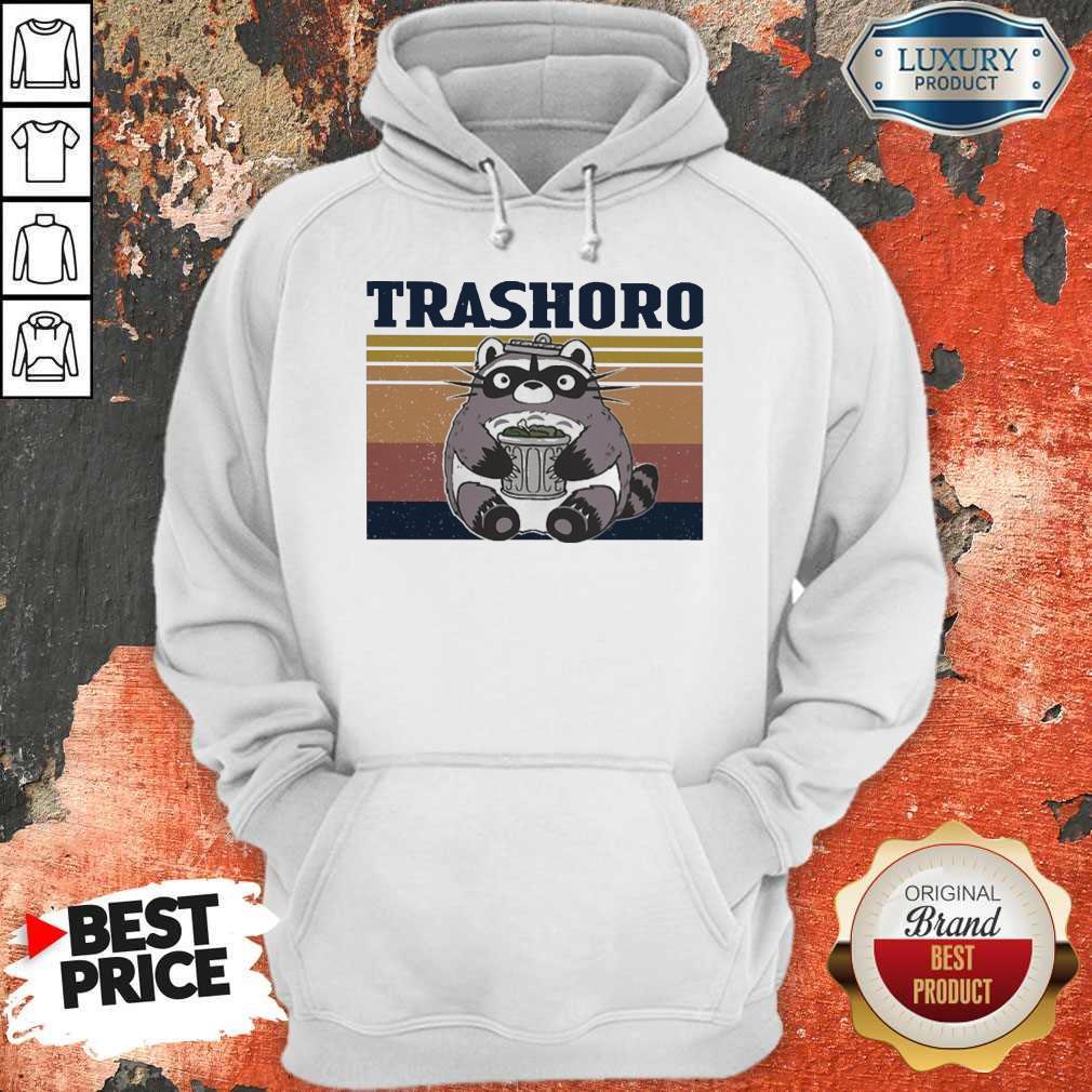 Awesome Racoon Trashoro Vintage Hoodie