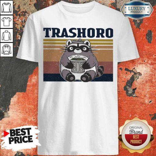 Awesome Racoon Trashoro Vintage Shirt