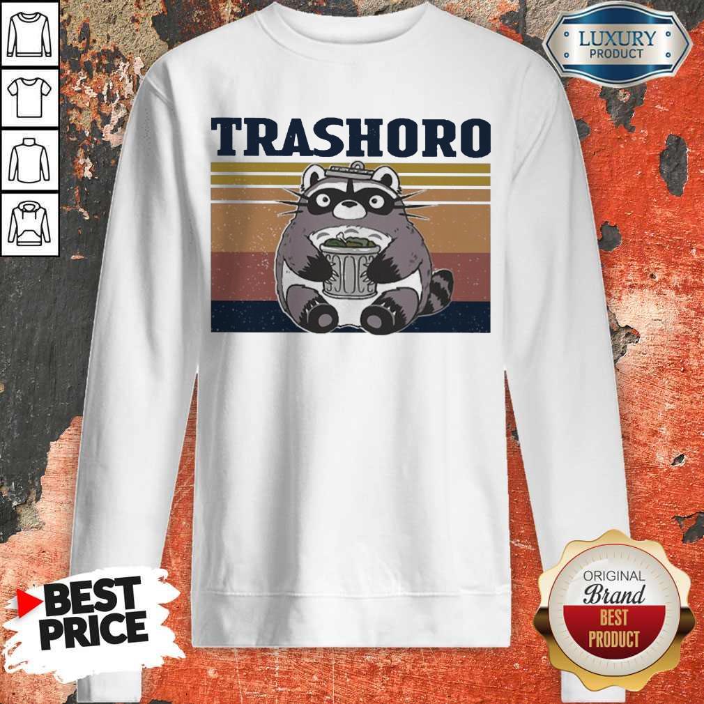 Awesome Racoon Trashoro Vintage Sweatshirt