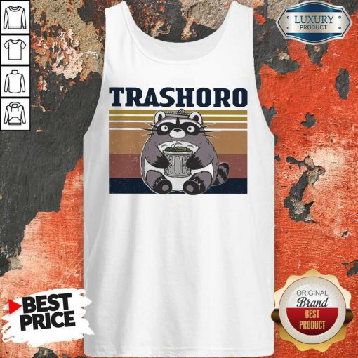 Awesome Racoon Trashoro Vintage Tank Top