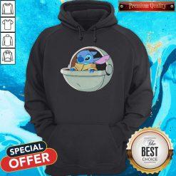 Baby Stitch Star War Hoodie
