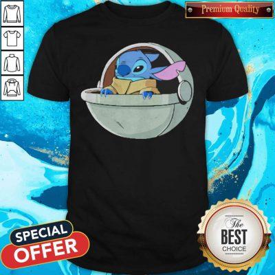 Baby Stitch Star War Shirt