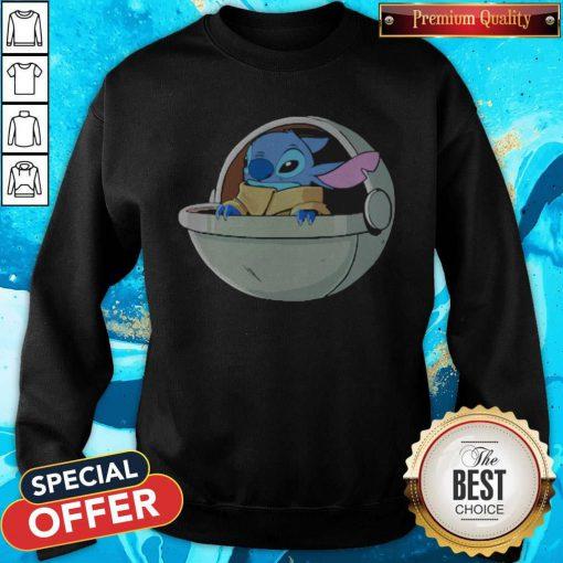 Baby Stitch Star War Sweatshirt