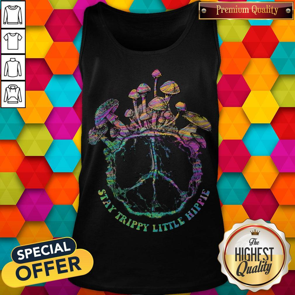 Beauty Stay Trippy Little Hippie Mushroom Tank Top