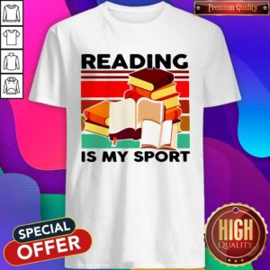 Good Reading Books Is My Sport Vintage Shirt