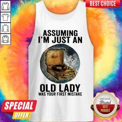Gramophone Music Assuming I'm Just An Old Lady Was Your First Mistake Vintage Tank Top
