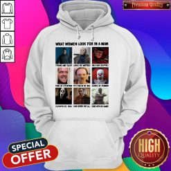 HALLOWEEN HORROR CHARACTERS WHAT WOMEN LOOK FOR IN A MAN HOODIE