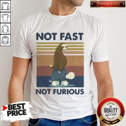 Hot Sloth Turtle Not Fast Not Furious Vintage Shirt