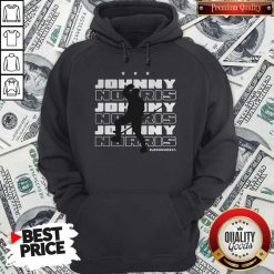 Johnny For Norris Official Washington D.C Hockey Hoodie