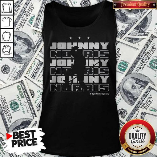 Johnny For Norris Official Washington D.C Hockey Tank Top