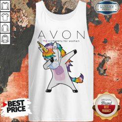 Nice Dabbing Unicorn Mask Avon The Company For Women Logo Coronavirus Tank Top