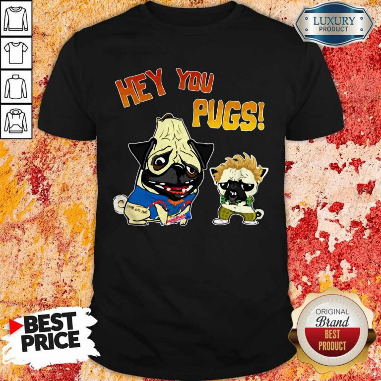 Nice Hey You Pugs Dog Shirt
