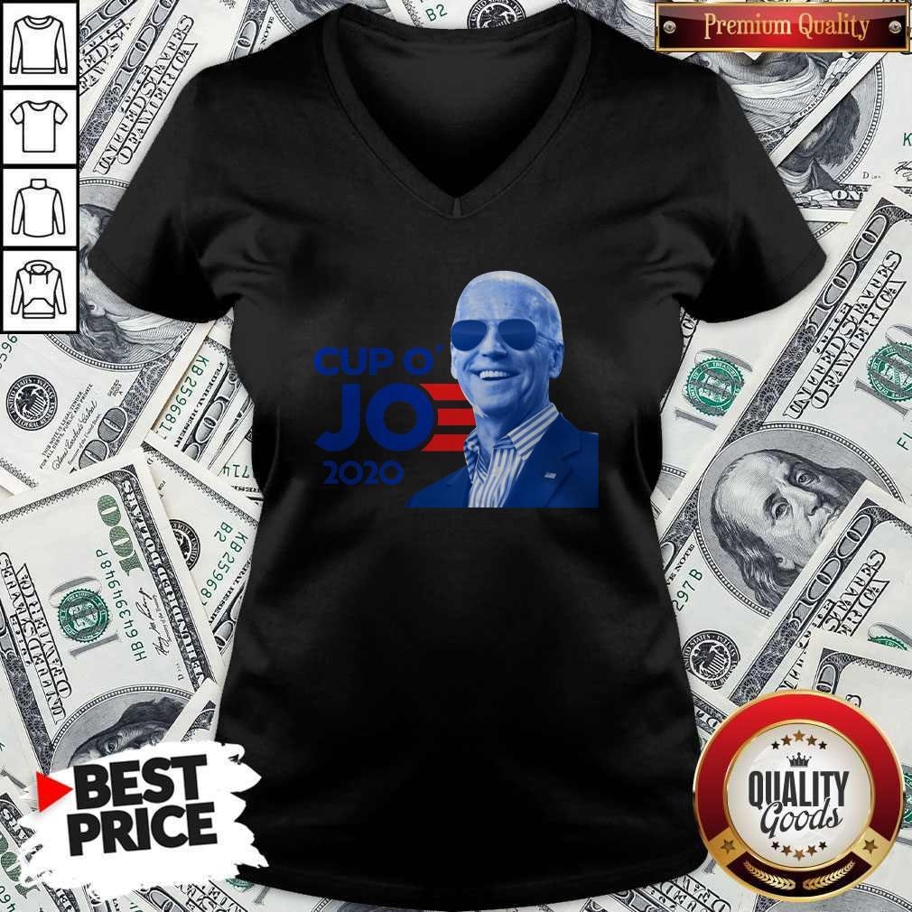 Nice Joe Biden For President 2020 Cup O' Jo V-neck