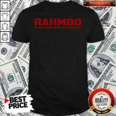 Nice Rahmbo Golf Official T-Shirt